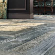 Floor Porcelain Tiles Nolan Blue 9x46 Wood Look Porcelain Tile Tilebar