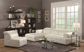White Leather Tufted Sofa Living Room Leather Tufted Sectional Sofa Coaster Sectional