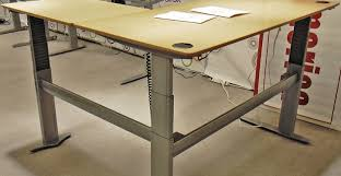 Diy Motorized Desk Awesome Metal Table Legs Stainless Steel Bases Motorized Regarding
