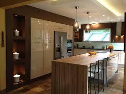 ilot bar cuisine attrayant cuisine avec ilot bar 1 cuisine avec 238lot central
