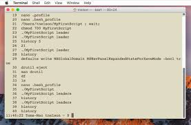 tech 101 introduction to the mac u0027s terminal app part two other