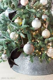 Plant Used As A Christmas Decoration And The Christmas Decorating Begins Our Family Room Tree