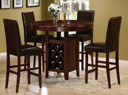 high top round kitchen table high top round dining room tables and chairs table ideas tall dining