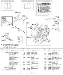 briggs and stratton 235432 0595 e1 parts diagram for oil sensor