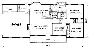 Floor Planning Online 1300 Sqft First Floor Plan Of Ranch House Plan 94801 Floor Plans