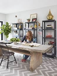 Big Office Desks Genevieve Gorder S Nyc Apartment Renovation Wall Ideas Hgtv And