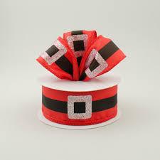 santa belt ribbon 1 5 santa belt satin ribbon 10 yards rt16 167