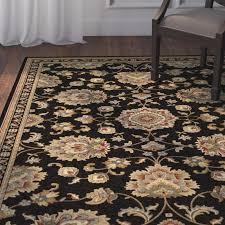 Black Gold Rug Astoria Grand Clarence Black Gold Area Rug U0026 Reviews Wayfair