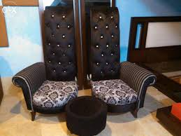 high back bedroom chair chic defence karachi karachi furniture along with back chairs set