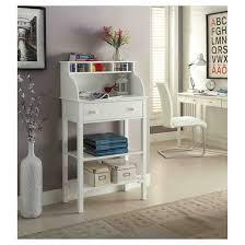Kitchen Computer Desk Office Kitchen Storage Desk White Convenience Concepts Target