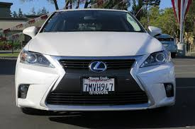 lexus owned by toyota pre owned 2015 lexus ct 200h hybrid hatchback in san jose rr4240
