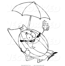 free coloring pages beach royalty free coloring pages to print stock vector designs