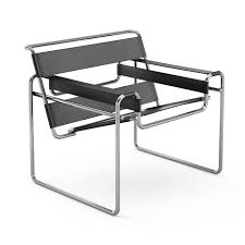 Leather And Chrome Chairs Wassily Chair Knoll