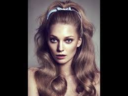 beautiful 60 s hairstyles for long hair youtube