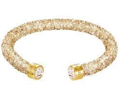 gold swarovski bracelet images Crystaldust cuff golden jewelry swarovski online shop jpg