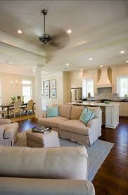 Kitchen Living Space Ideas Empty Nester Home The Kitchen Opens To The Family Room And Dining