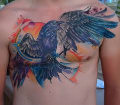 20 unique chest tattoos example