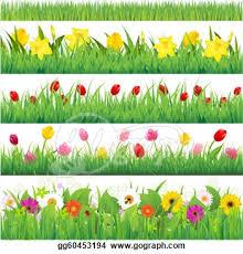 flower garden borders clipart clipart pinterest flower
