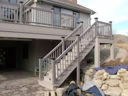 decorative deck stairs u2014 all home design ideas
