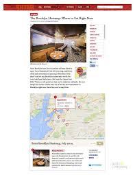 Eater Heat Map Press U2014 Meadowsweet Kitchen And Bar Williamsburg Brooklyn