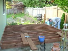 our first house deck patio redo meadow lake road
