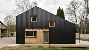 Affordable Homes To Build by Studiolada Used All Wood Materials To Create This Affordable Open