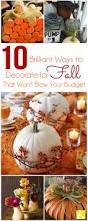 budget friendly fall decorating ideas from jenniferdecorates com