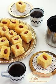 Coconut Cake Recipe Semolina Coconut Cake A Treats Affair