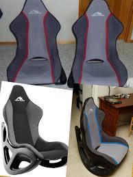 Gaming Chair Rocker Ak Designs Ak 100 Rocker Gaming Chair Gray Black Red Skin Games