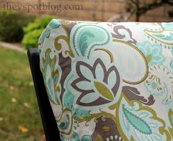 How To Cover Patio Cushions by No Sew Outdoor Cushion Covers Cushions Decoration