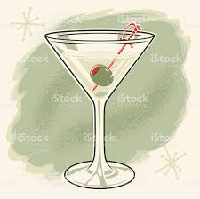 martini olive art vintage martini with olive stock vector art 103976109 istock