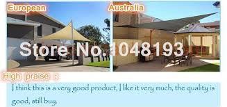 Awning Netting Sun Shade Sail 5 5m Square Sunscreen Hdpe Shading Net Anti Uv