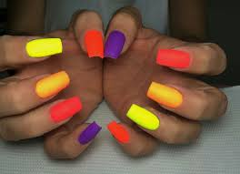 multi coloured nail designs images nail art designs