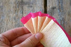 crepe paper streamers craft time diy crepe paper flower crown ooo la la hey eep