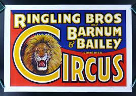 Barnes And Bailey Circus Circus Posters Vintage Ringling Bros Barnum U0026 Bailey Circus