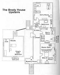 house floor plan layouts the brady bunch house map floorplans upstairs go here for