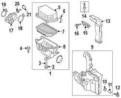 hyundai veloster intake parts com hyundai hose air intake partnumber 281383x000