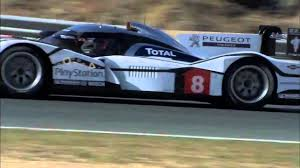 peugeot canada peugeot 908 hybrid4 testing estoril in car youtube