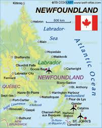 map of st and miquelon map of newfoundland canada map in the atlas of the world