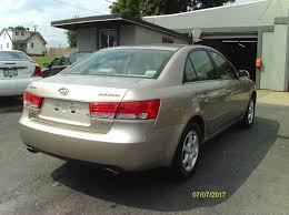 2006 hyundai sonata gls v6 2006 hyundai sonata gls v6 4dr sedan in vernon pa r m