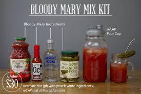 organic bloody mix gift a day bloody mix kit jars company