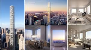 penthouses in new york what it u0027s like to live in a 95 million penthouse 1 396 feet above