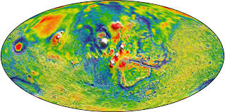 Surface Map Three Cool Things We U0027ve Learned From Nasa U0027s Mars Gravity Map