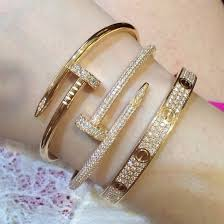 cartier bracelet diamond images Jewels gold nails cartier nail bracelet bracelets diamond jpg