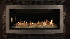 kozy heat linear direct vent fireplace slayton burn video