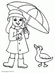 clothes coloring pages spring clothes coloring pages for kids flannel boards weather