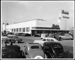 Vintage Car Sales Los Angeles Exterior View Of Ralphs Market And Parking Lot On Opening Day At