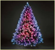 new year mini color changing led tree in