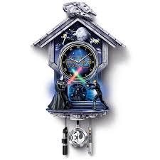 the return of the jedi wall clock hammacher schlemmer