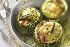cuisine courgettes courgette farcie recette facile gourmand